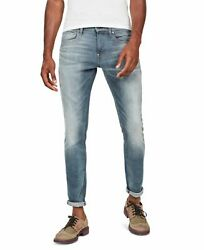 G Star Mens Jeans Blue Size 29X32 Revend 3D Skinny Washed Stretch $160 #235 $54.99