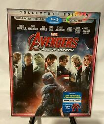 Avengers: Age of Ultron Collector's Edition 3D Blu Rayblu Ray Robert Downey Jr $15.90