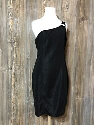 NWT Divided By Hamp;M Women Black Cocktail Dress 12 Bodycon $14.99