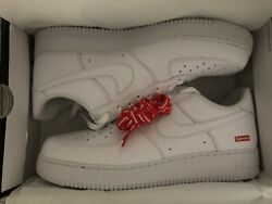 Brand New Supreme Air Force 1 Low White Size 13 In Hand Ships ASAP Free Ship $200.00
