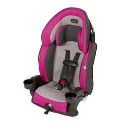 Evenflo Chase Plus 2 in 1 Booster Car Seat Safety Baby Geneva Purple $56.99