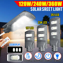 360W LED Solar LED Street Light Commercial Outdoor IP66 Area Security Road Lam