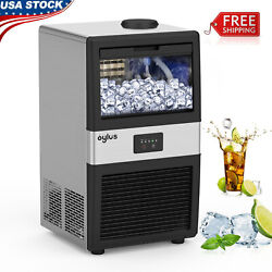 Commercial Ice Maker Machine Stainless Steel Ice Cube Machine Undercounter $302.81