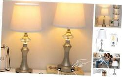 Modern 3 Way Dimmable Table Lamps for Living Room Set of 2Touch Control $96.06