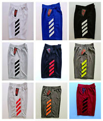 NEW Boys Athletic Shorts Basketball Shorts Workout with Side Pockets $12.99
