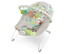 Bright Starts Happy Safari Baby Bouncer Seat 11508 $29.00