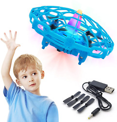 Hand Drone for Kids or Adult Mini UFO Drone Toys with Shinning LED Lights Flying $29.56