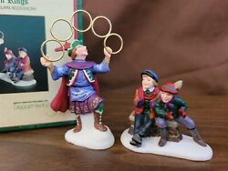 Dept 56 Dickens Village Series 12 Days Christmas 5 FIVE GOLDEN RINGS $14.00