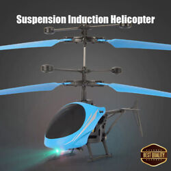 Lightweight Suspension Induction Remote Control Helicopter For Kids Outdoor Toy $7.99