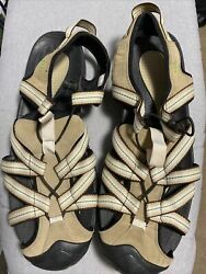 LANDS END Mens 13D Suede Bungee Hiking Trail Sport Sandals $8.00