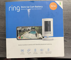 Ring Stick Up Cam Battery Powered Indoor Outdoor Camera with Two Way Talk $98.99