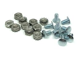 Vintage for Schwinn Stingray Krate Bicycle Fender Brace Rivet Screws Nuts 10pcs $7.00