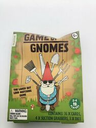 Game Of Gnomes Card amp; Dice Matching Game Fun For The Whole Family DMG Box $10.99