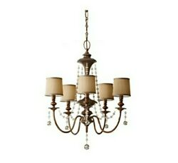 Feiss Firenze Gold Chandelier shades set of 5 111757 F2724 5FG $29.99
