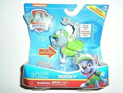 Nickelodeon Paw Patrol Rocky w Pup Pack amp; Phrases quot;NEWquot; $14.00