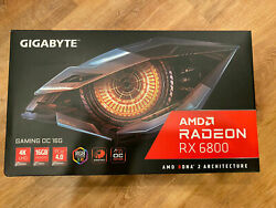 *BRAND NEW SHIPS TODAY* GIGABYTE AMD Radeon RX 6800 GAMING OC Graphics Card $1599.00