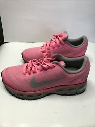 WOMENS 2012 PINK GRAY NIKE MAX AIR 555415 600 SIZE 9 GENTLY WORN
