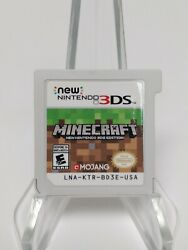 Minecraft for New Nintendo 3DS Cartridge Only Tested Fast Shipping $19.97