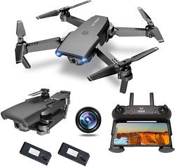 NEHEME NH525 Foldable Drones with 720P HD Camera for Adults RC Quadcopter WiFi $71.15