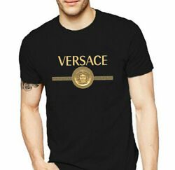 Collection VERSACE3 T Shirt Father#x27;s Mother#x27;s Day Tee Vintage Gift For Men Women $17.99