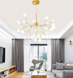 Sputnik Firefly Pendant Lamp Modern 27LED Ceiling Lighting DIY Chandelier $139.98