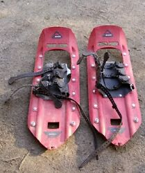 MSR Classic Snowshoes 8x22 Red Pre Owned $80.00