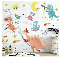 New large dinosaur background wall sticker vinyl home wall decor $16.99