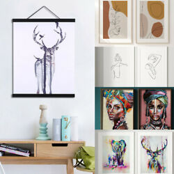 2x Home Bedroom Canvas Poster Painting Wall Art Picture Abstract Canvas Posters $10.99