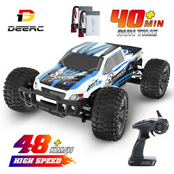 DEERC 9200E RC Car Remote Control 1:10 48km h Monster Truck 2.4GHz 4WD Off Road $119.92