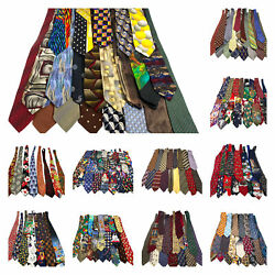 Lot 197 Traditional Novelty Animals Sports Looney Tunes Neckties Ties For Crafts $149.99
