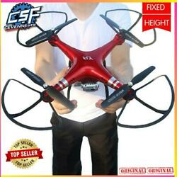 New Professional Rc Drone Quadcopter Wifi 720p Fpv Camera Helicopter Large 42cm $43.99