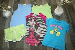 Energy Old Navy Monster High Girl clothing Lot 5 Size 7 12 shirts free ship $18.96