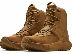 Under Armour 3024009 Mens UA Micro G Valsetz Tactical Leather Duty Boots Coyote $135.95