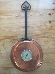 A Vintage Copper Kitchen Display item Wall Hanging Thermometer GBP 16.00
