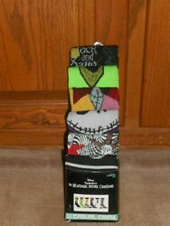 NEW THE NIGHTMARE BEFORE CHRISTMAS 6 Pair Pack Casual Crew Men Socks size 8 12 $14.50