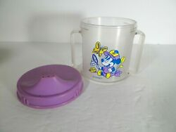 Vintage Evenflo Minnie Mouse Toddler Sippy cup with Lid $7.99