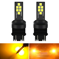 3157 LED Yellow Rear Turn Signal Parking Light Bulb For Chevy Equinox 2010 2015 $11.65