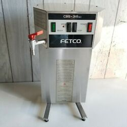 FETCO CBS 31Aap Commercial Single Automatic 2.2L Coffee Brewer Maker w Hot Water $84.95