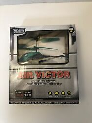 2CH Mini Infrared Remote Control Helicopter Toy XB Air Victor Brand NEW $8.97
