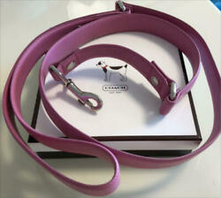 Coach dog lead for L size dog pink Unused item from Japan $115.07