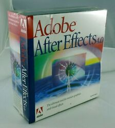 Adobe After Effects 4.0 for Windows in shrinkwrap with CD $40.00