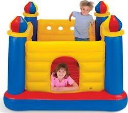 Inflatable Colorful Jump O Lene Kids Ball Pit Castle Bouncer For Ages 3 And Up $58.81