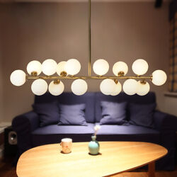 Modern 16 Ligh Modo Round Glass Chandeliers Pendant Ceiling Lamp LED Fixtures