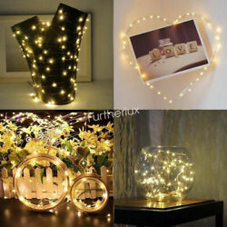 10 Pack 200 LED Battery Fairy String Micro Rice Wire Copper Lights Party Decor $9.90
