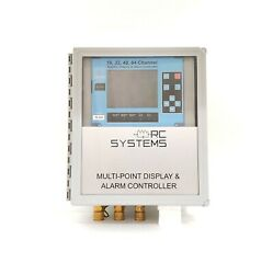 RC SYSTEMS 16 32 48 64 CHANNEL GRAPHIC DISPLAY AND ALARM CONTROLLER $6800.00