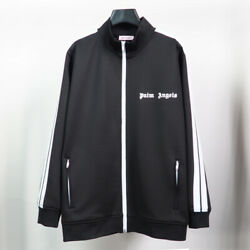 19 SS PALM ANGELS Classic Track Jacket Striped Sports Casual Jacket S XL $54.99