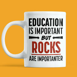 Gift For Rock Collector Funny Amateur Geology Rock Hunting Coffee Mug For $12.99