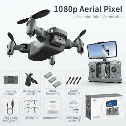 KY905 Mini Drone With 4K Camera HD Foldable Drones Quadcopter FPV RC Helicopter. $45.99