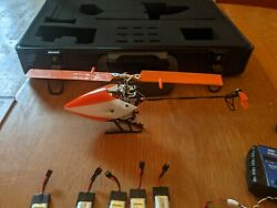 Blade BLH6050 mCPX Helicopter with case used $150.00