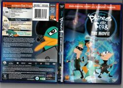 Phineas and Ferb Across the 2nd Dimension DVD Animation Kids Adventure Comedy VG $1.89